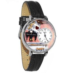 Music Teacher Large Watch in Silver