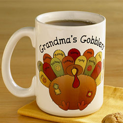 Personalized Gobbler 11 oz Mug