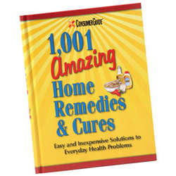 1001 Amazing Home Remedies & Cures Book