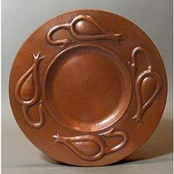 Stickley Seed Pod Copper Plaque