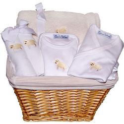 Baby Lamb Gift Basket