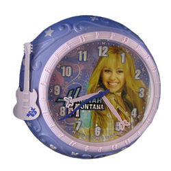 Hannah Montana Purple Wall Clock