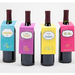 Make a Toast Wine Gift Tags