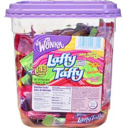 Assorted Flavors Laffy Taffy Tub