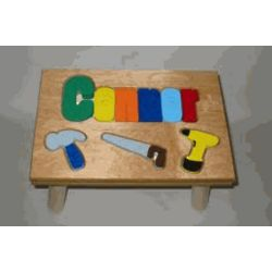 Personalized Tools Step Stool