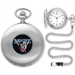 Silver NCAA Pocket Watch
