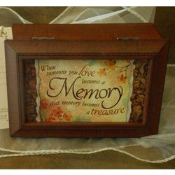 Treasured Memory Music Box