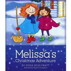 Melissa's Christmas Adventure Children's Book