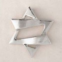 Jazzy Sterling Silver Star of David