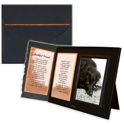 'Faithful Friend' Dog Sympathy Picture Frame