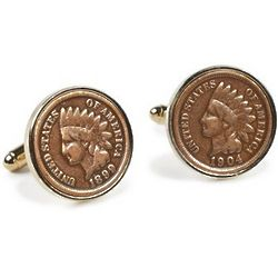 Indian Head Pennies Cufflinks