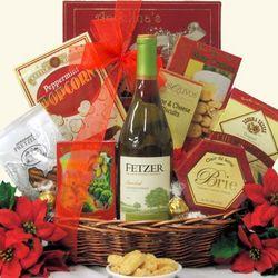 Fetzer Vineyard Sundial Chardonnay Holiday Gift Basket