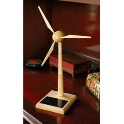 Desktop Wood Wind Turbine Model - FindGift.com