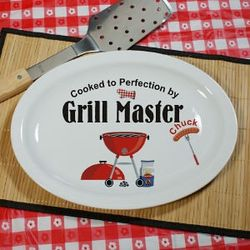 Personalized Grill Platter