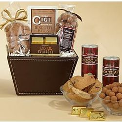 Coffee Inspired Chocolate Gift Basket