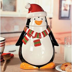 Penguin Cookie Jar