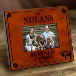 Personalized Moose Frame