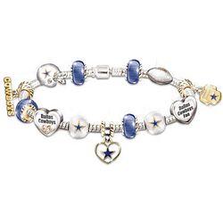 Go Team! NFL #1 Fan Charm Bracelet