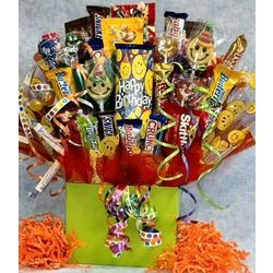 Smile! It's Your Birthday Candy Bouquet