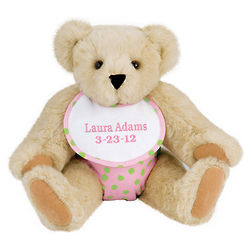 "15"" Baby Girl Teddy Bear"