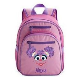 Personalized Elmo or Abby Backpack