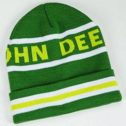 John Deere Logo Green Knit Beanie