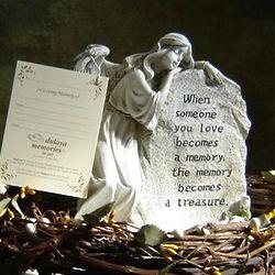 Treasured Memory Angel Garden Figure