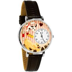 Veterinarian Watch in Large Silver Case