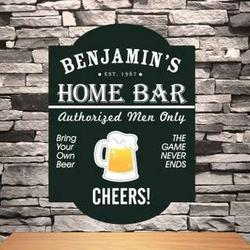 Personalized Home Bar Classic Tavern Sign