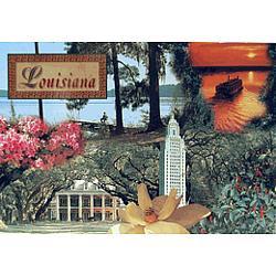 Louisiana Sites Postcard