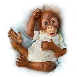 Baby Babu Orangutan Baby Doll