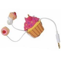 Cupcake Earbud Headphones