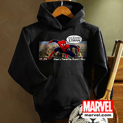Kid's Personalized Spiderman Sweatshirt