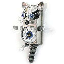 Raccoon Culinary Creature Kitchen Clock