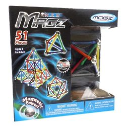 51 Piece Magz Magnetic Construction Kit