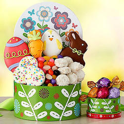 Easter Cookie, Chocolate And Candy Gift Box