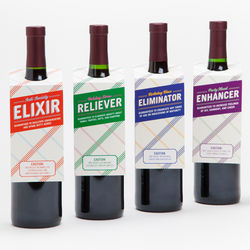 Mood Enhancer Wine Gift Tags