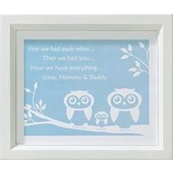 Personalized Then We Had You Framed Print