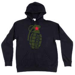 Grenadier Black Hoodie with Grenade