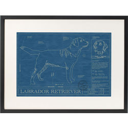 Large Framed Dog Blueprint