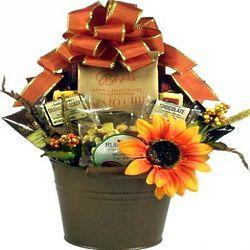Rustic Fall Treats Gift Basket