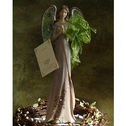 Jeweled Angel Statue