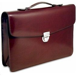 Milano Slim Flap Briefcase