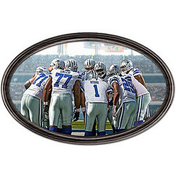 Dallas Cowboys Going the Distance Personalized Wall Decor