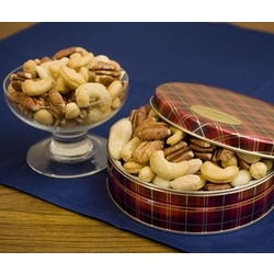 Superior Mixed Nuts in Gift Tin