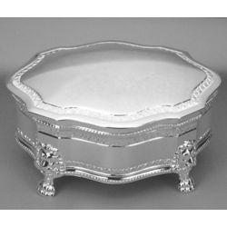 Engravable Victorian Jewelry Box