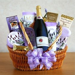 Sparkling Relaxation Spa Gift Basket