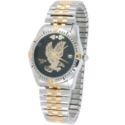 Men's Eagle Watch with Diamond Accent