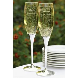 Harmony Wedding Toasting Flutes