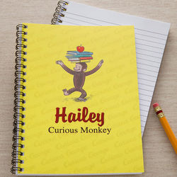 Curious George Personalized Notebooks